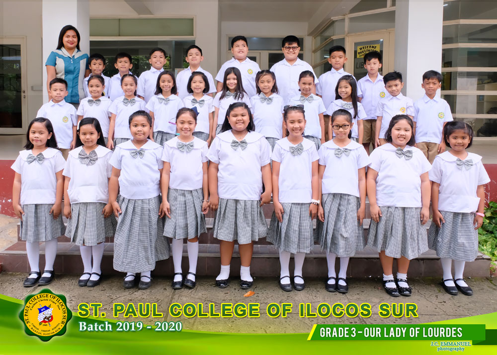 GRADE-3---OUR--LADY--OF--LOURDES