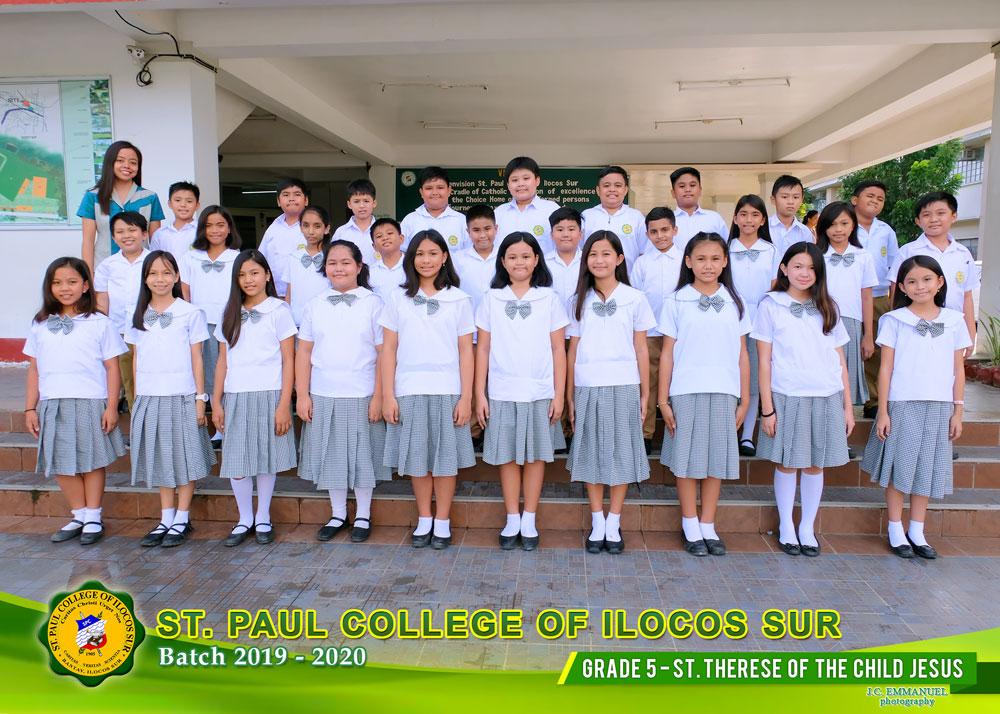 GRADE--5---ST-THERESE--OF--THE--CHILD--JESUS