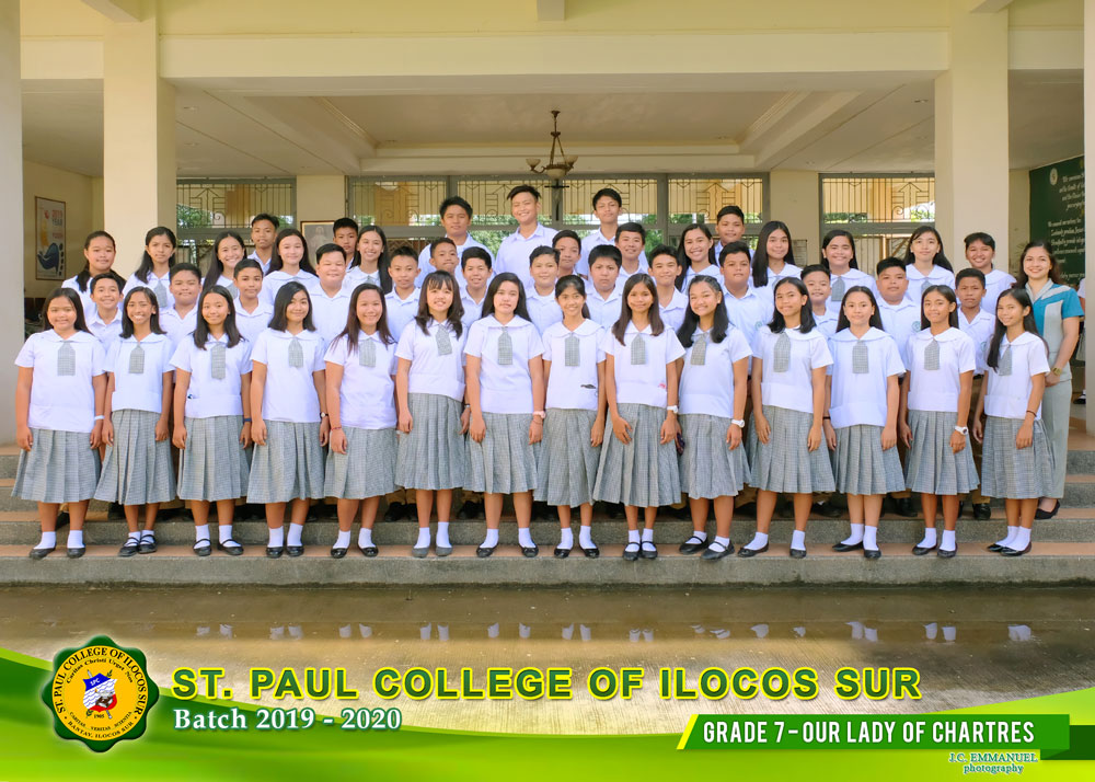 GRADE--7---OUR--LADY--OF--CHARTRES