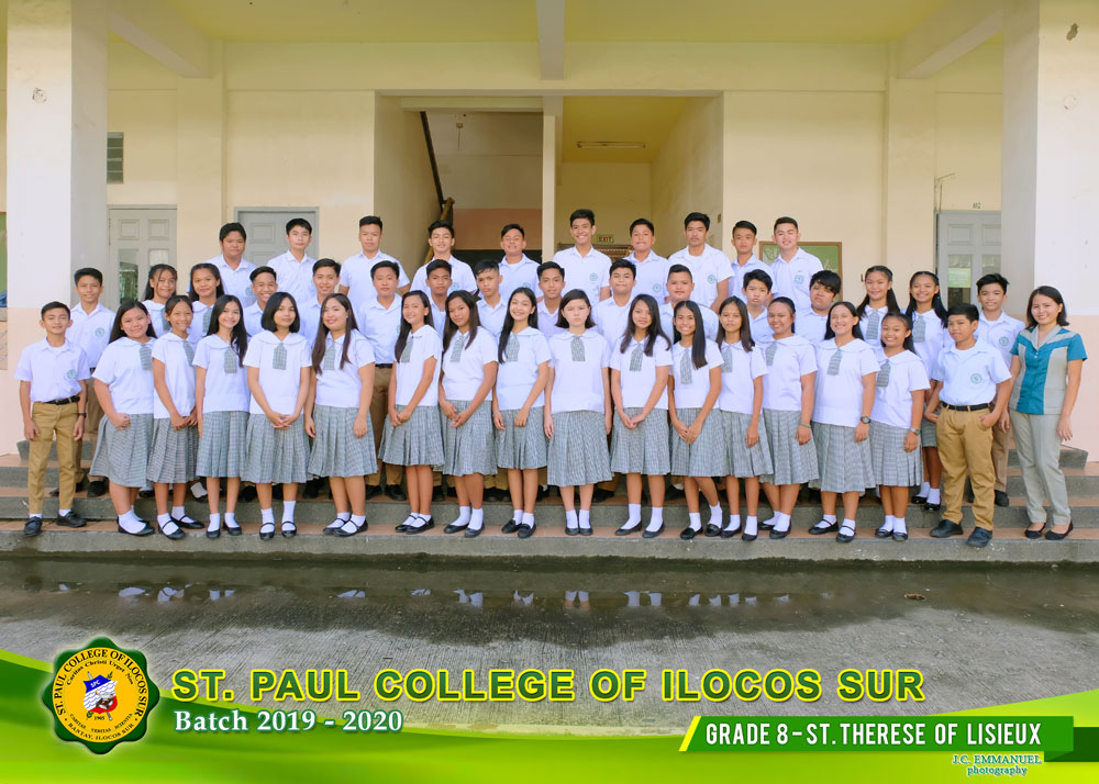 GRADE--8---ST-THERESE-OF-LISIEUX