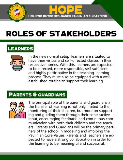 holistic outcomes-based paulinian e-learning 20