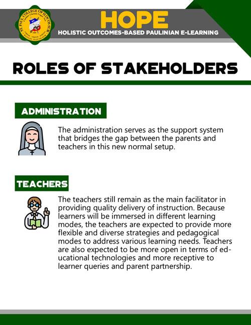 holistic outcomes-based paulinian e-learning 21
