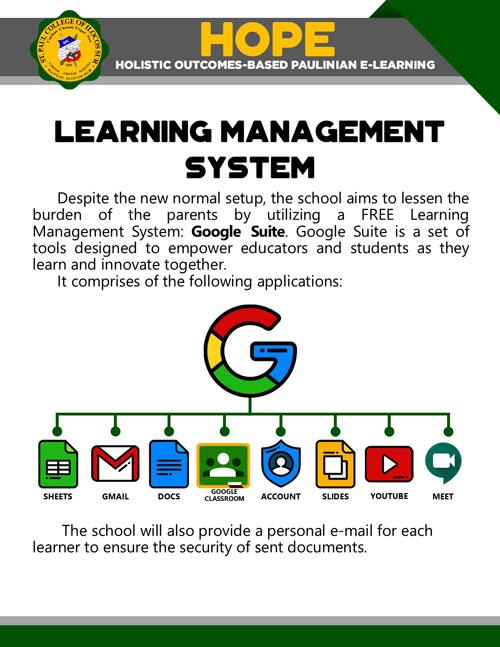 holistic outcomes-based paulinian e-learning 22
