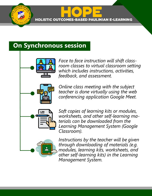 hope synchronous session