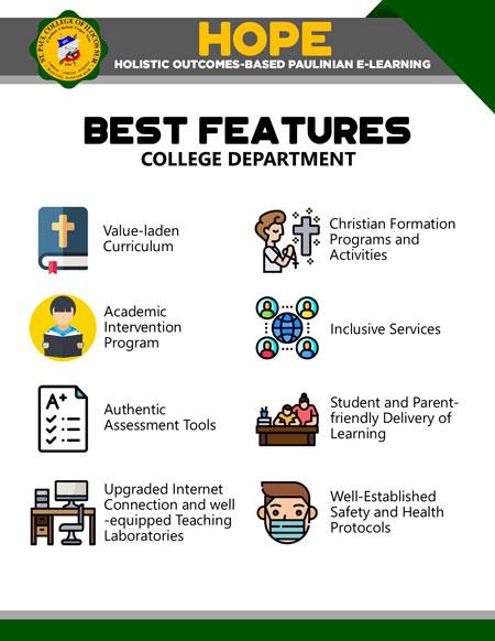 college holistic outcomes-based paulinian e-learning 04