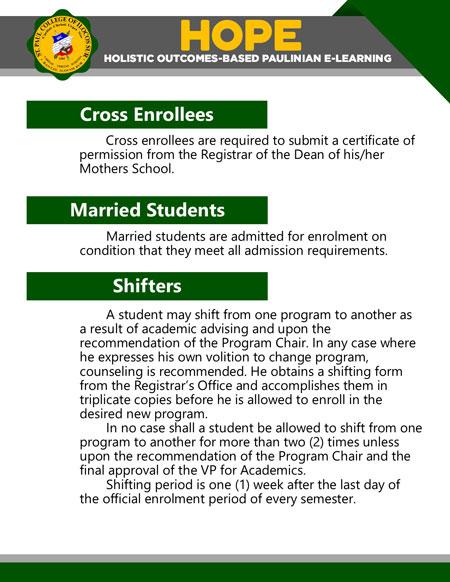 college holistic outcomes-based paulinian e-learning 10