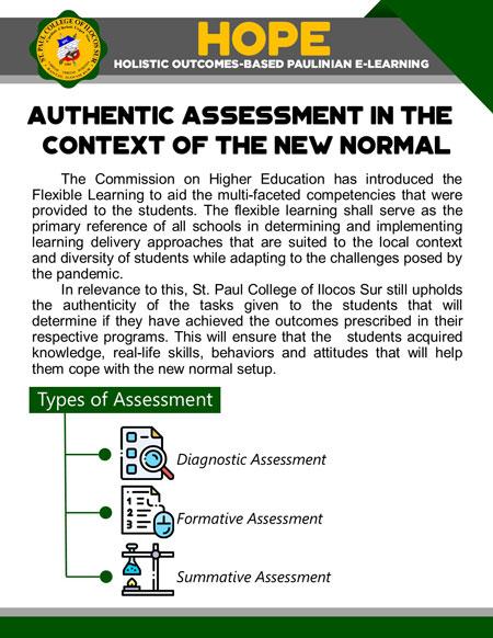 college holistic outcomes-based paulinian e-learning 14