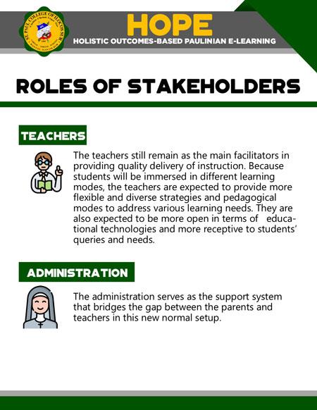 college holistic outcomes-based paulinian e-learning 17