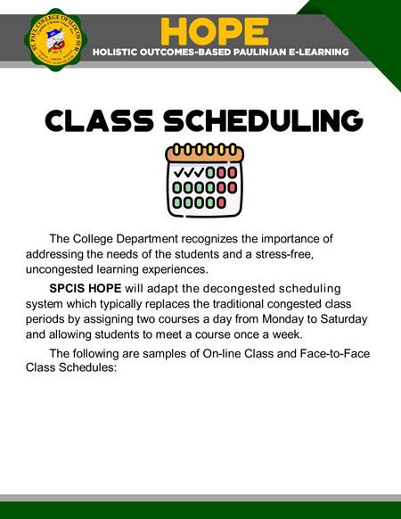 college holistic outcomes-based paulinian e-learning 22