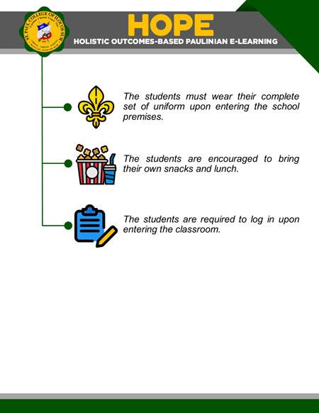 college holistic outcomes-based paulinian e-learning 24