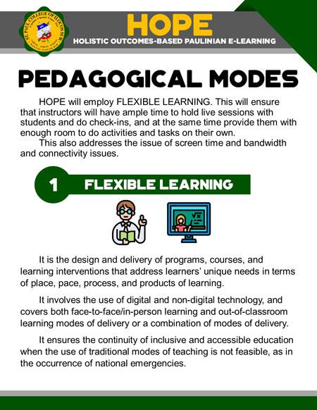 college holistic outcomes-based paulinian e-learning 26