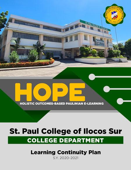 college holistic outcomes-based paulinian e-learning 28