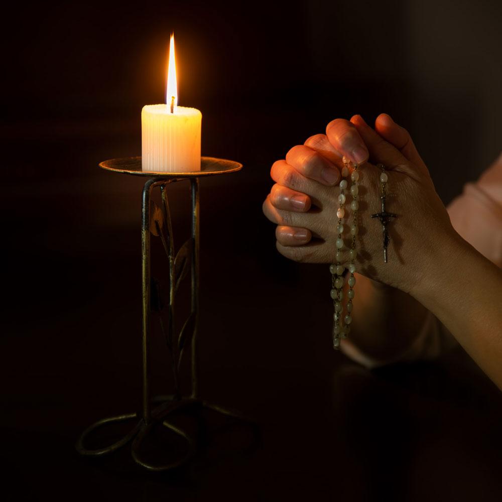 praying rosary paulinian core values